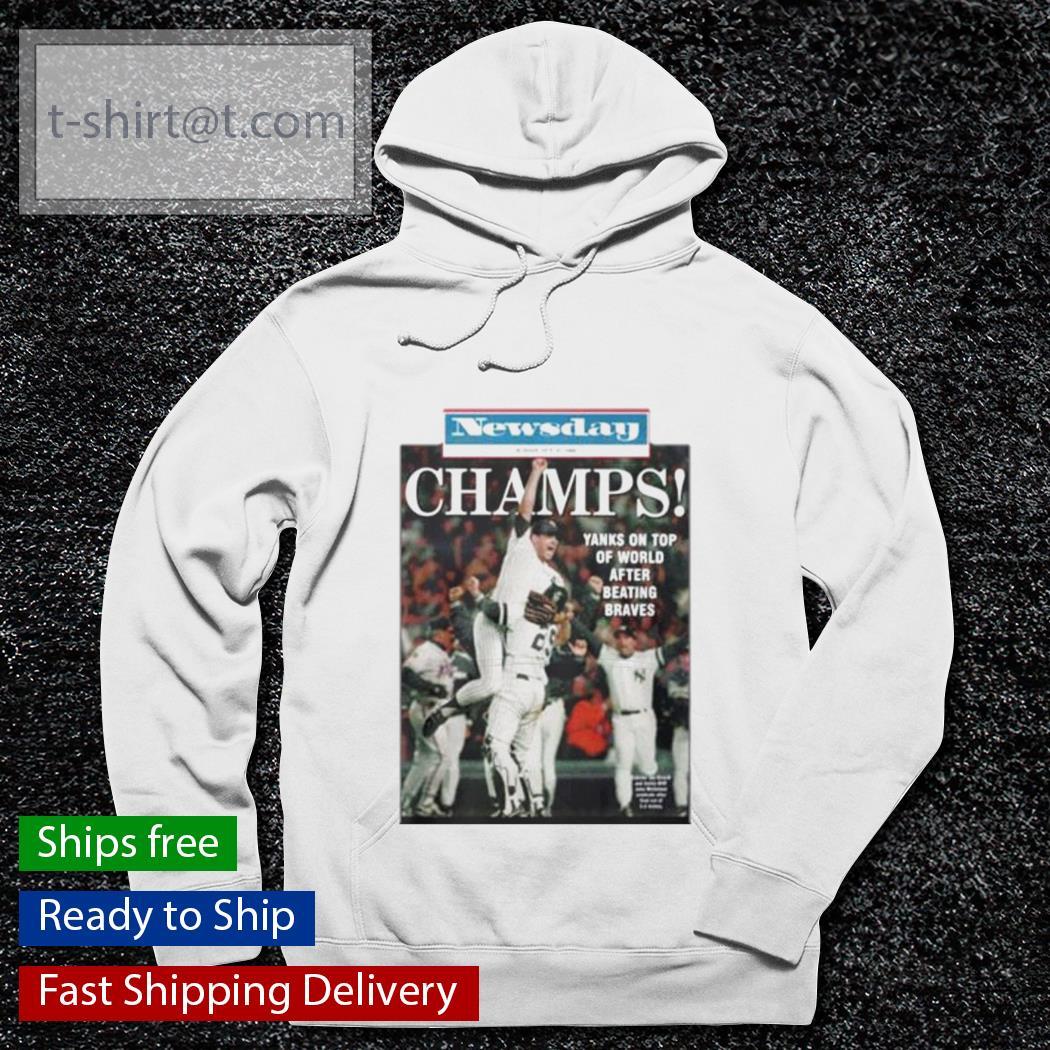 1996 Yankees Newsday Championship s hoodie