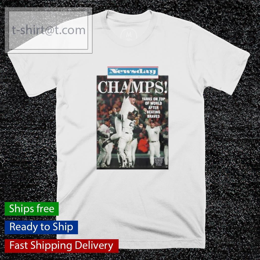 1996 Yankees Newsday Championship shirt