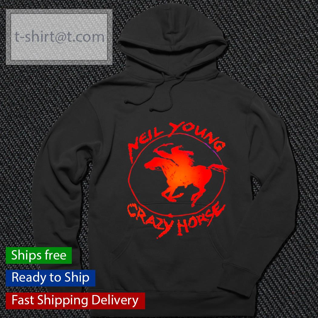 Neil young crazy horse s hoodie