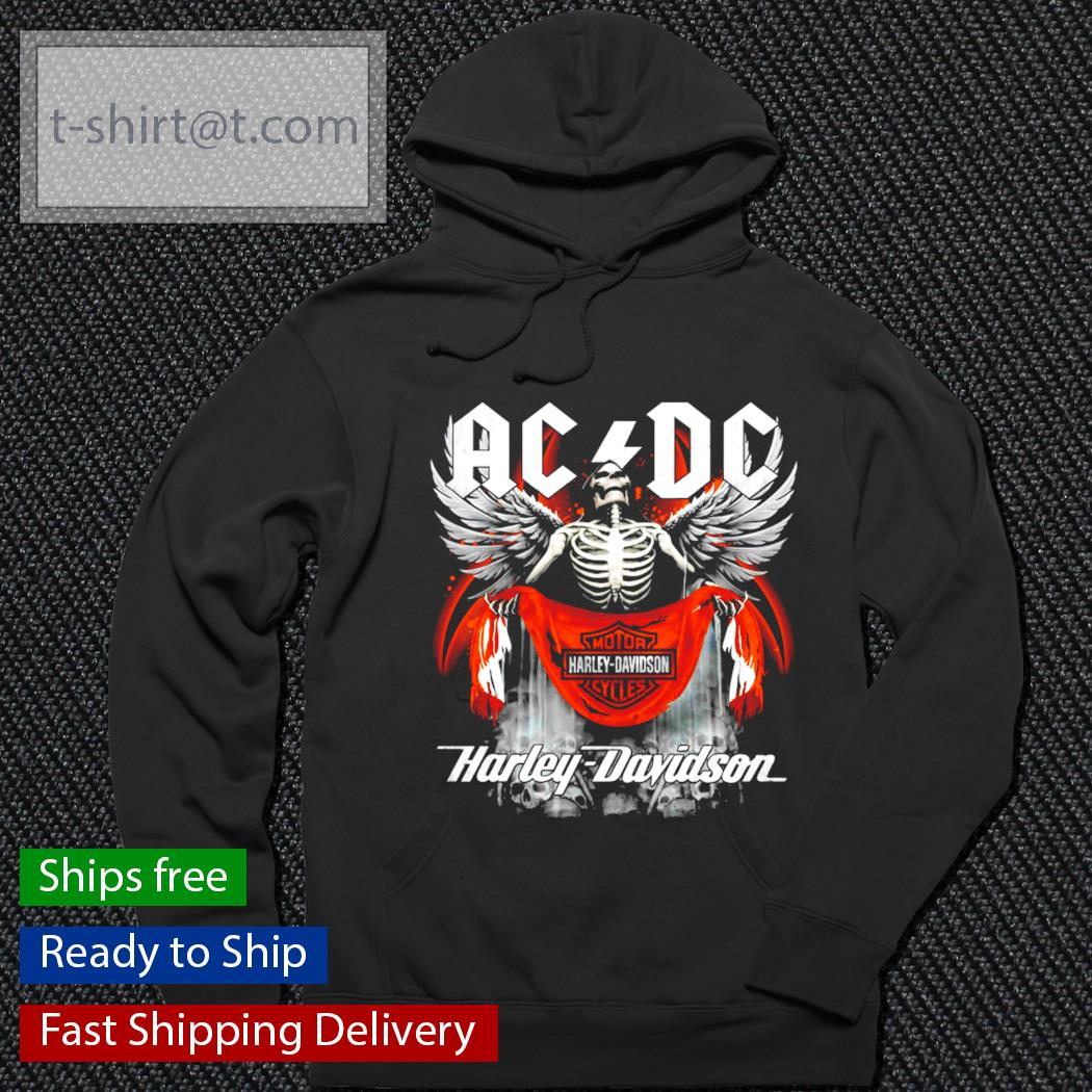 AC DC Motor Harley Davidson Cycles Harley Davidson s hoodie