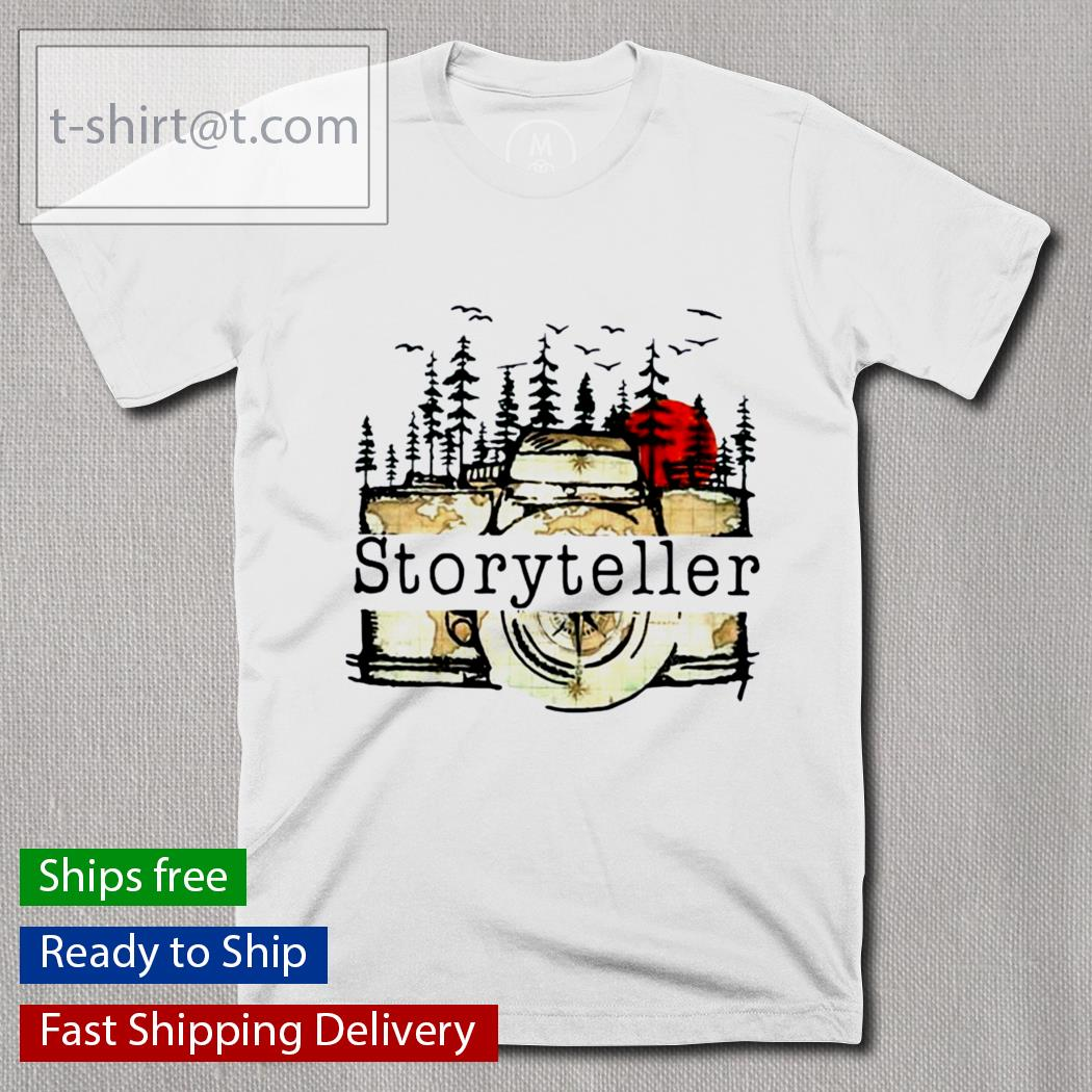 Camera Storyteller Moon shirt