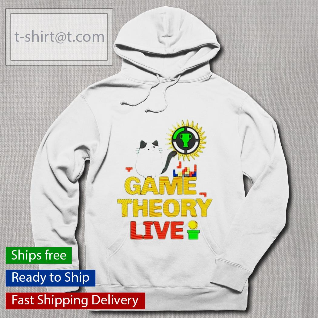 Cat game theory live s hoodie