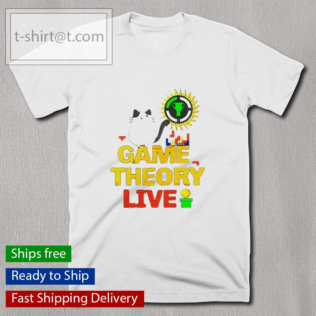 Cat game theory live shirt