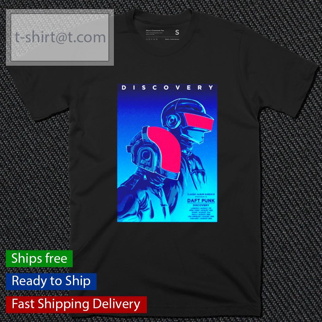Daft Punk discovery epilogue 1993-2021 shirt