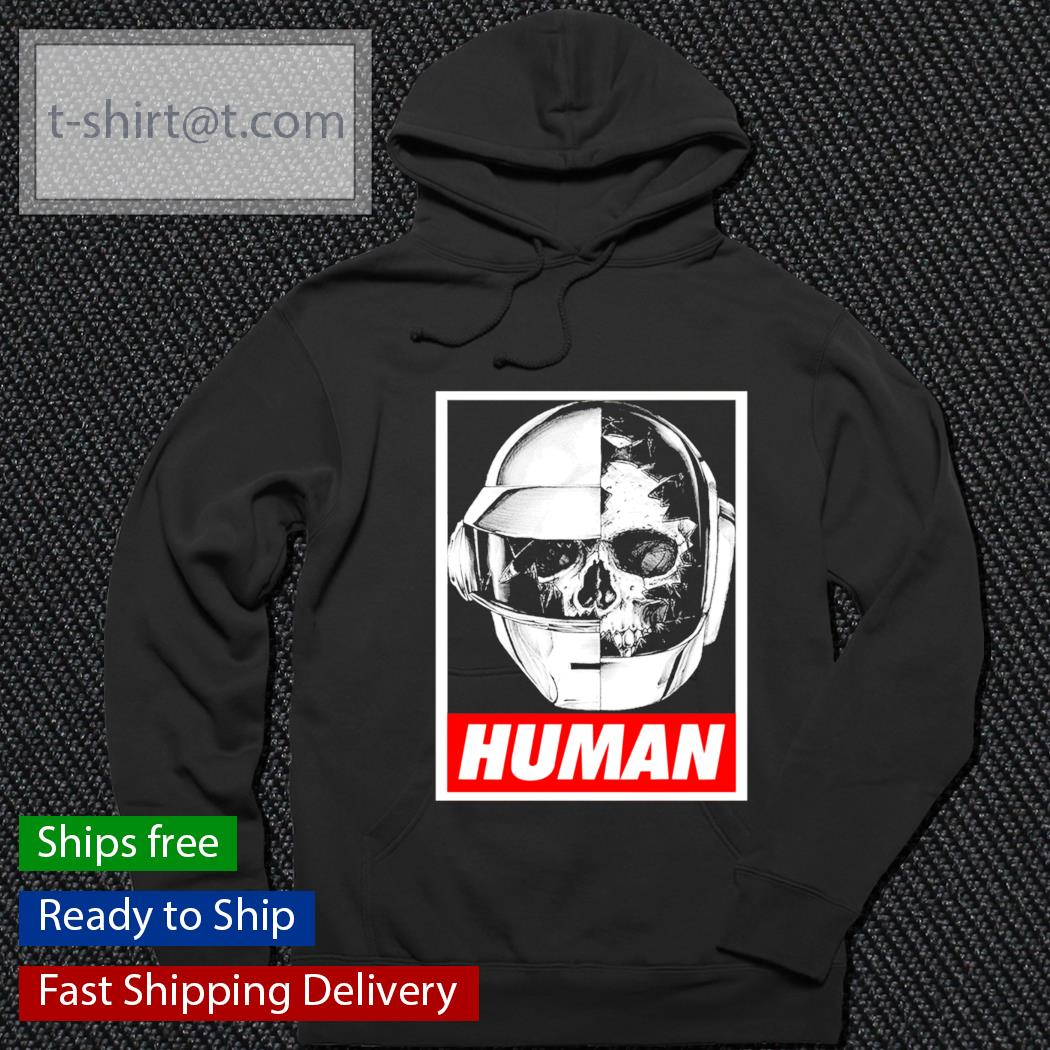 Daft punk Skull Human s hoodie