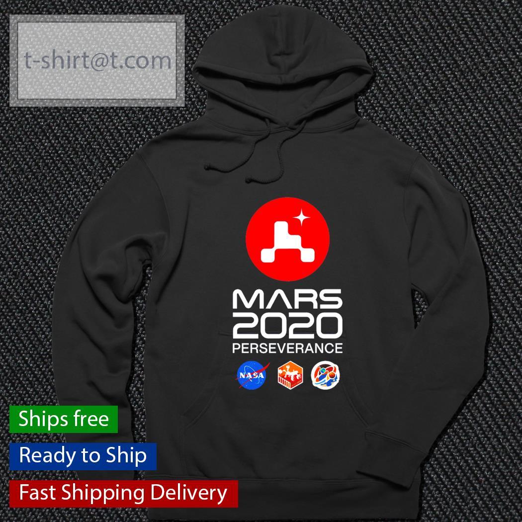 Mars 2020 perseverance logo s hoodie