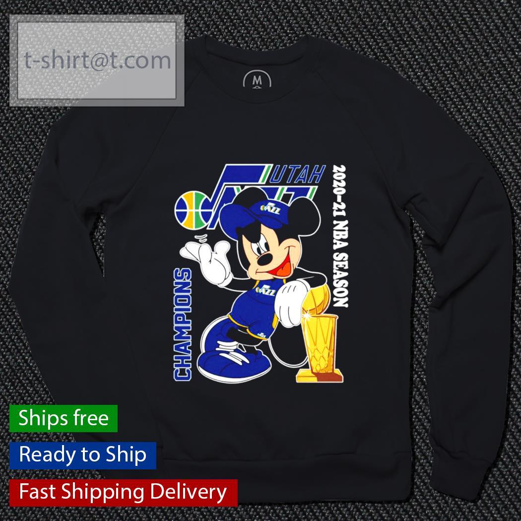 Mickey Mouse Champions 2020-21 NBA Season s sweater