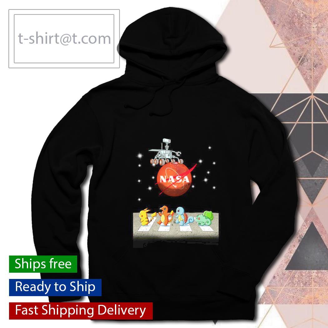 Pokemon Nasa Abbey Road s hoodie