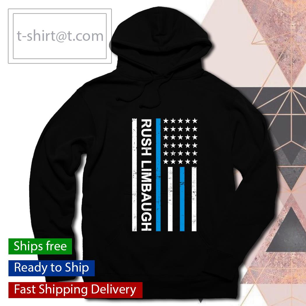 Rush limbaugh United State American Flag s hoodie