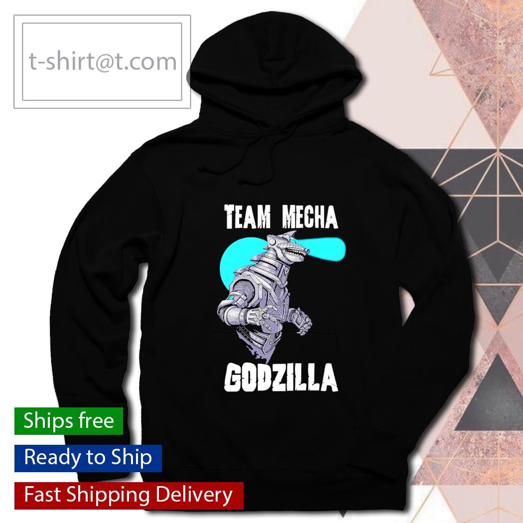 Team mecha Godzilla s hoodie