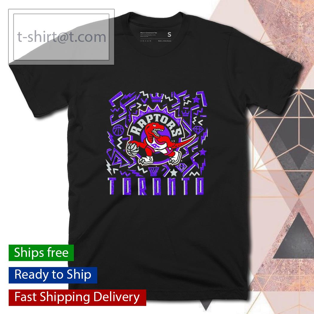 Toronto Raptors Mitchell and Ness Hardwood Classics Dynamic shirt