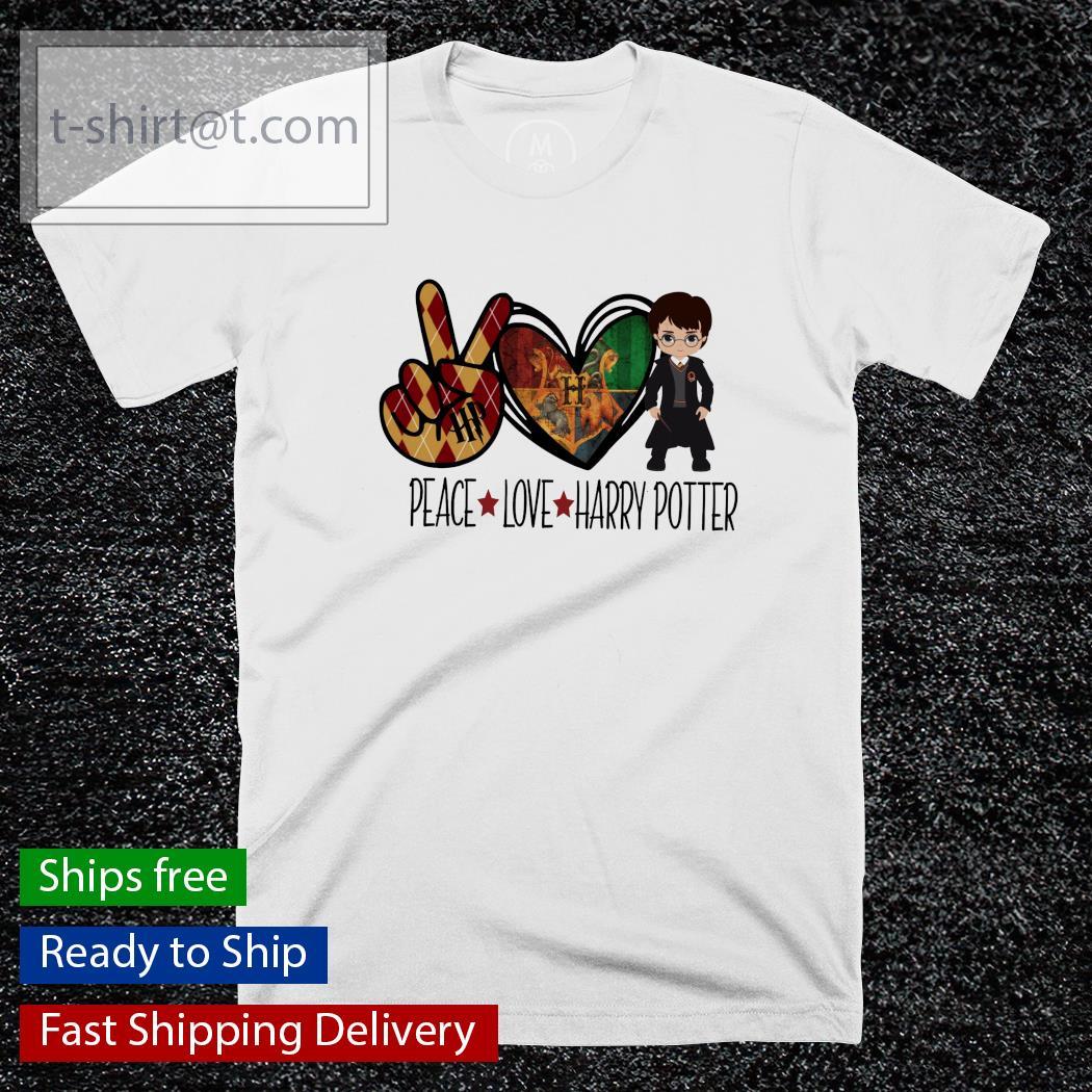 Peace Love Harry Potter shirt