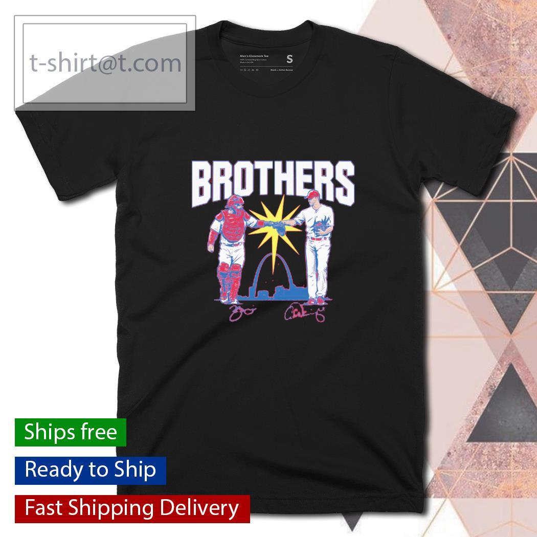 Wainwright and Molina Brothers St. Louis shirt