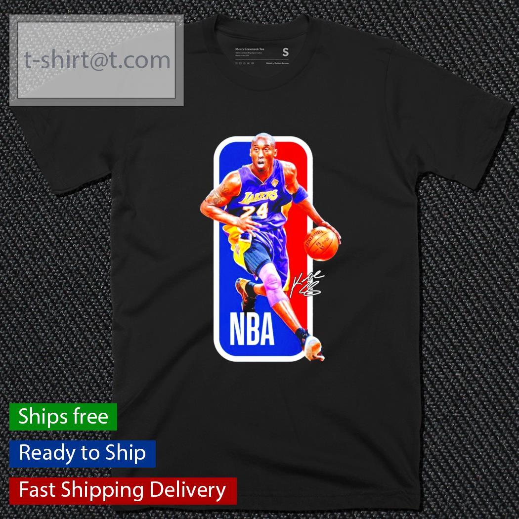 24 Kobe Bryant Los Angeles Lakers NBA football shirt