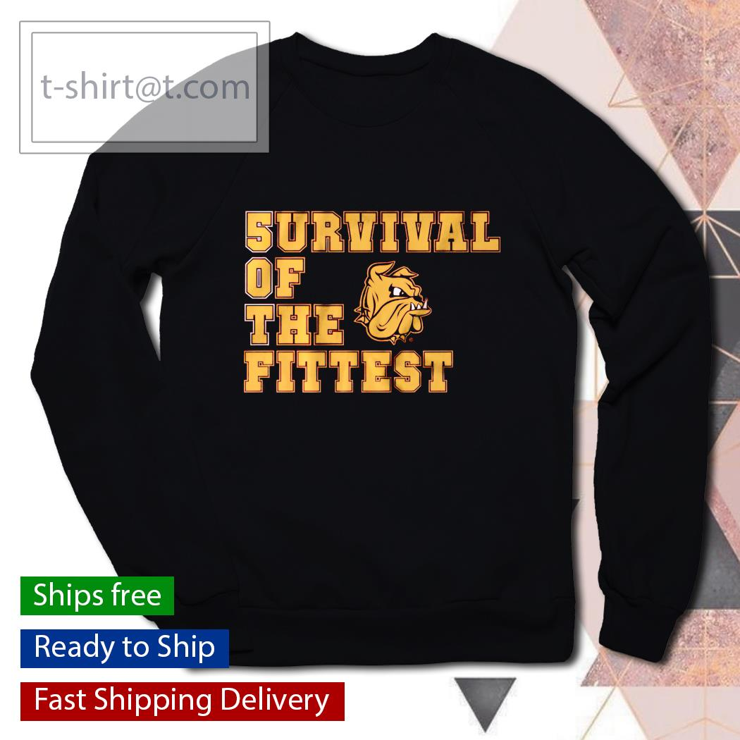 5urvival of the Fittest Minnesota Duluth s sweater