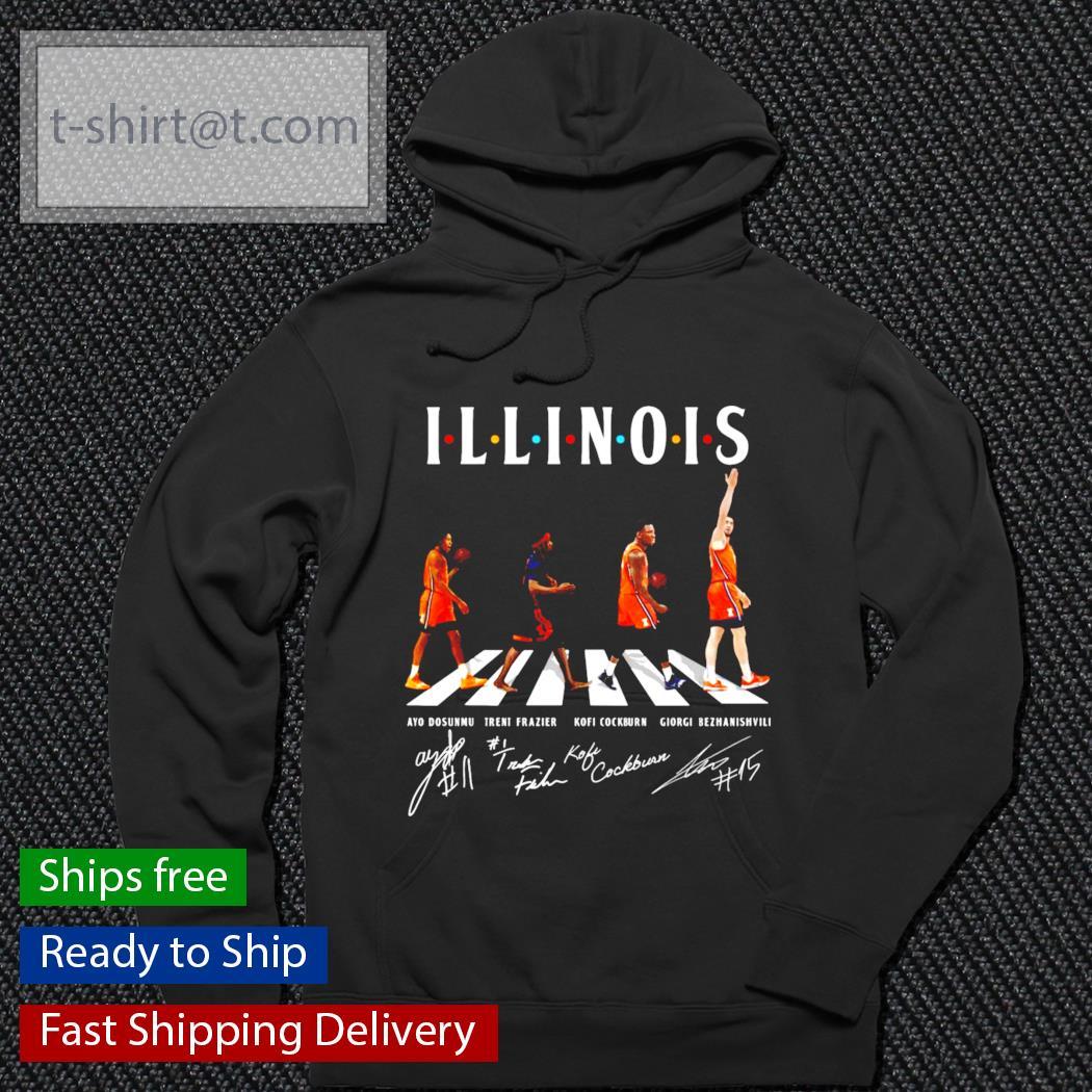 Abbey Road Illinois signature s hoodie