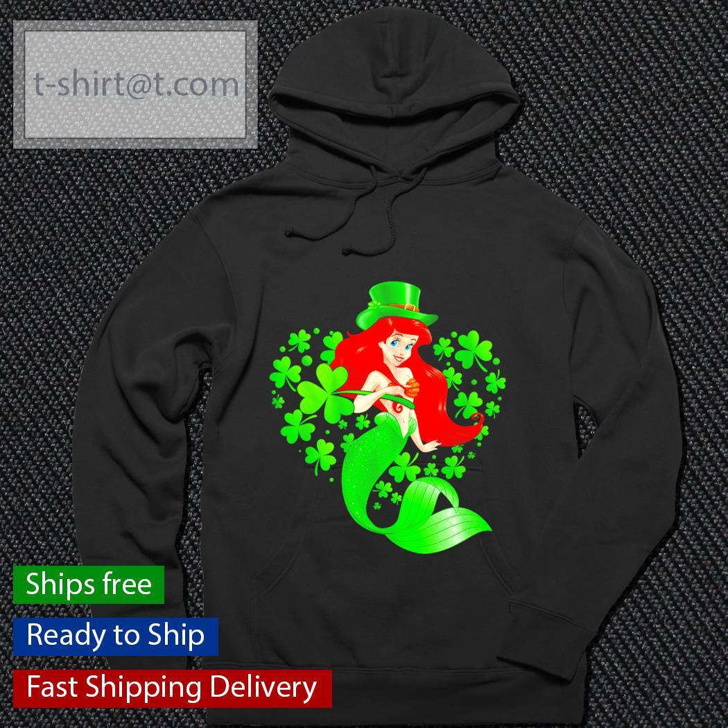 Ariel St.Patrick's Day Leprechaun shirt.png hoodie