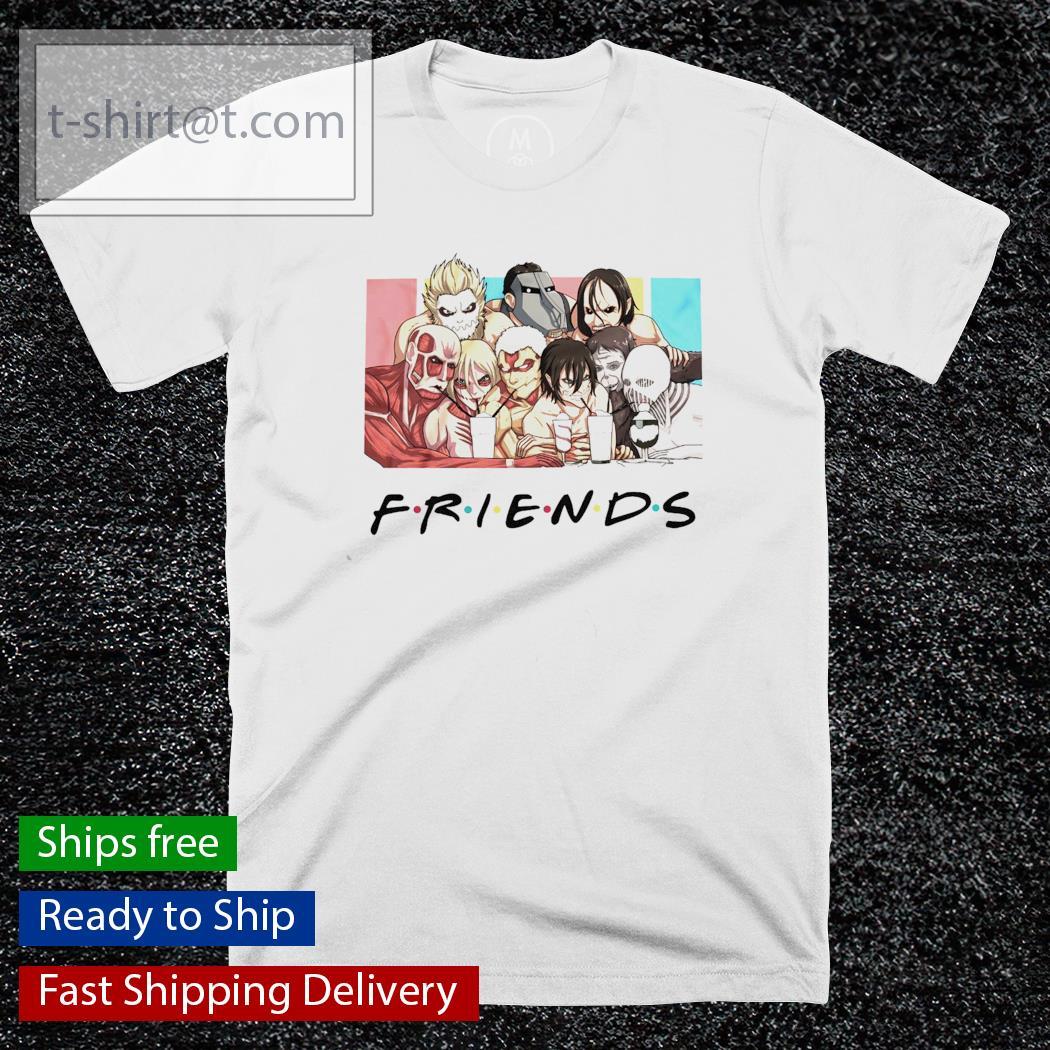 Attack on Titan Friends TV show shirt