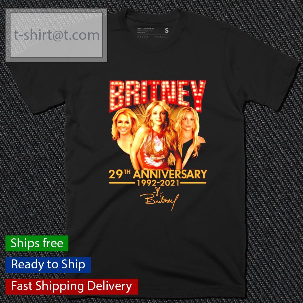 Britney 29th anniversary 1992-2021 shirt
