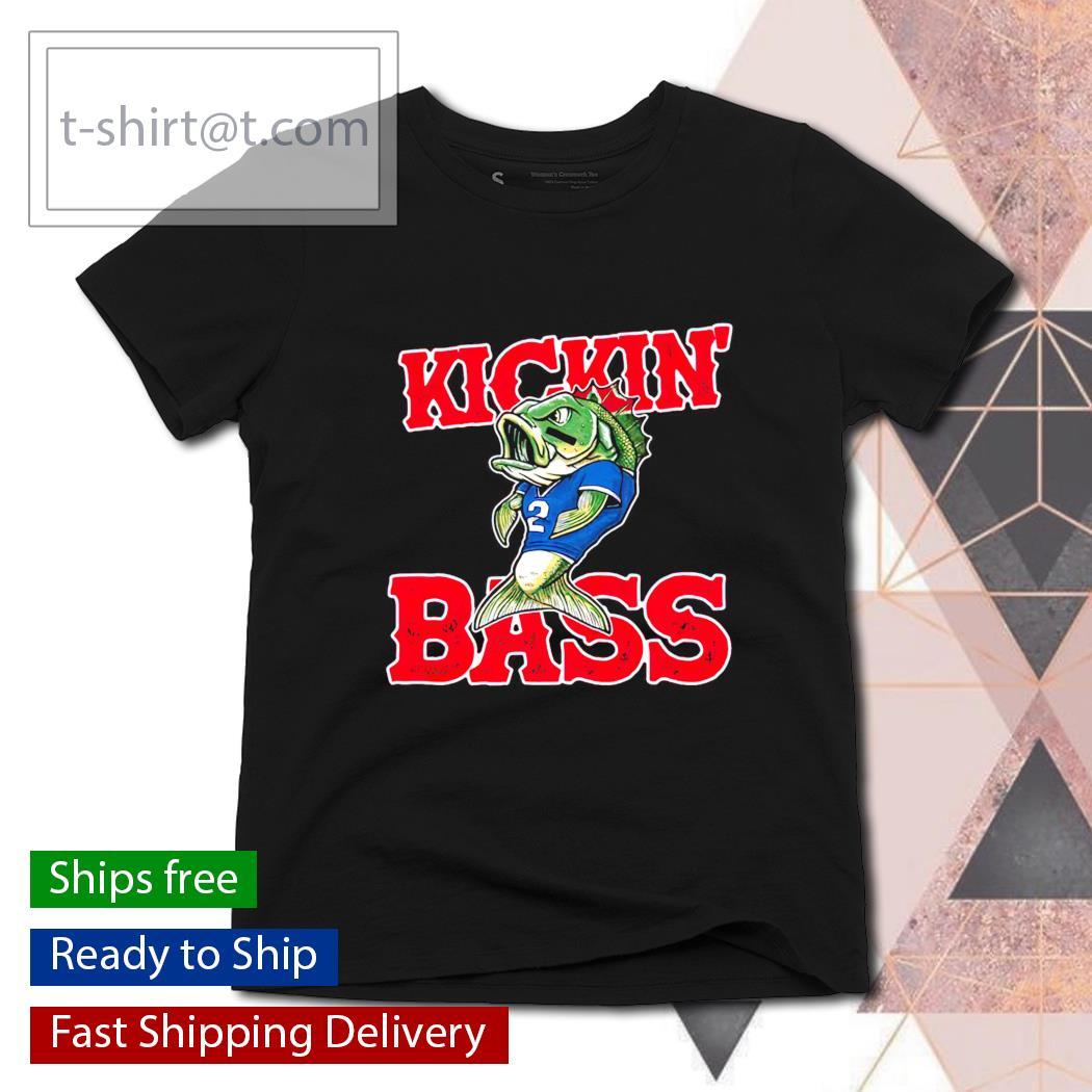 Buffalo Kickin' Bass s ladies-tee