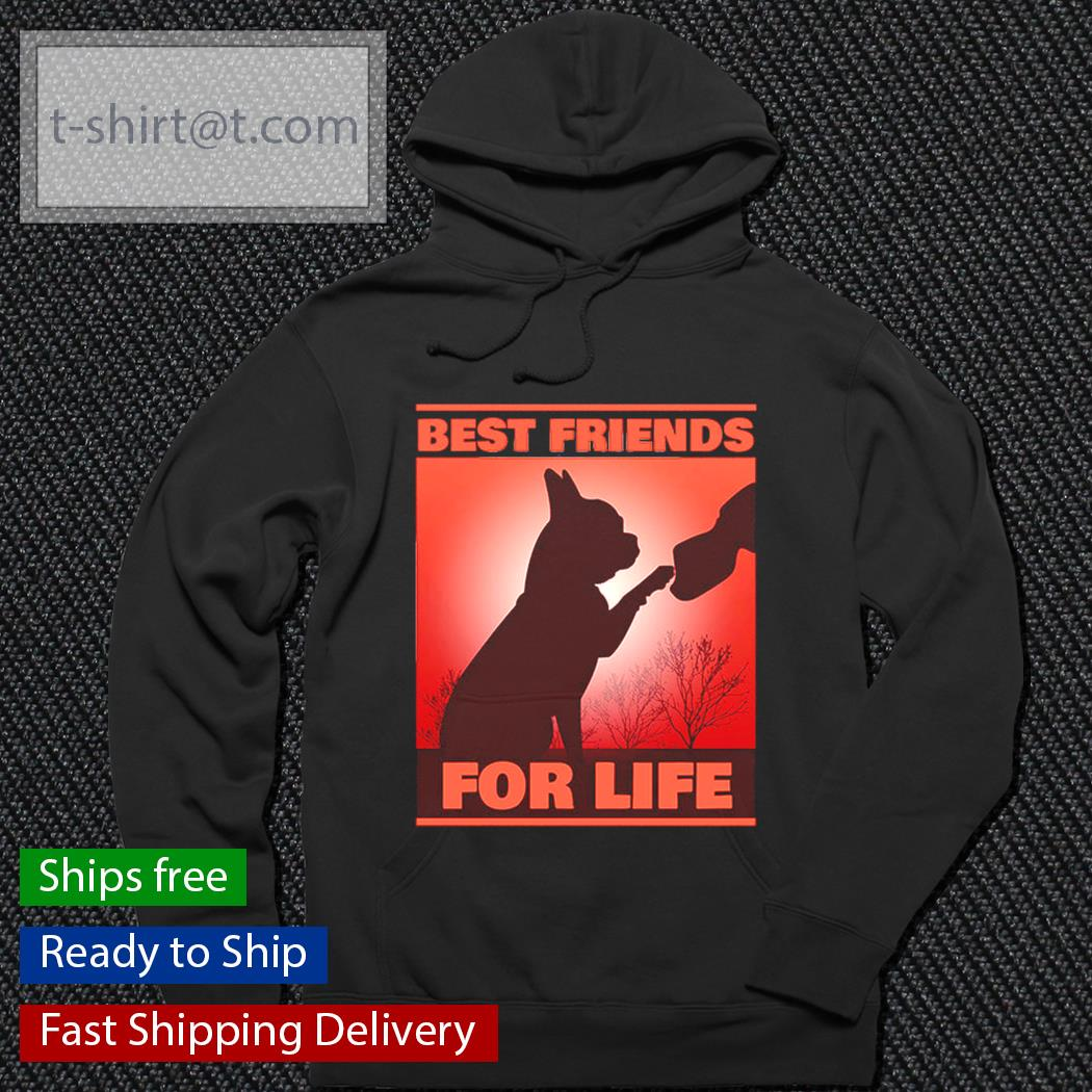 Bulldog best friends for life s hoodie