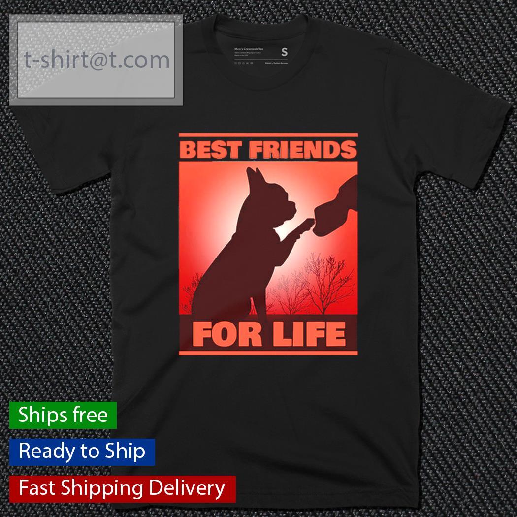 Bulldog best friends for life shirt