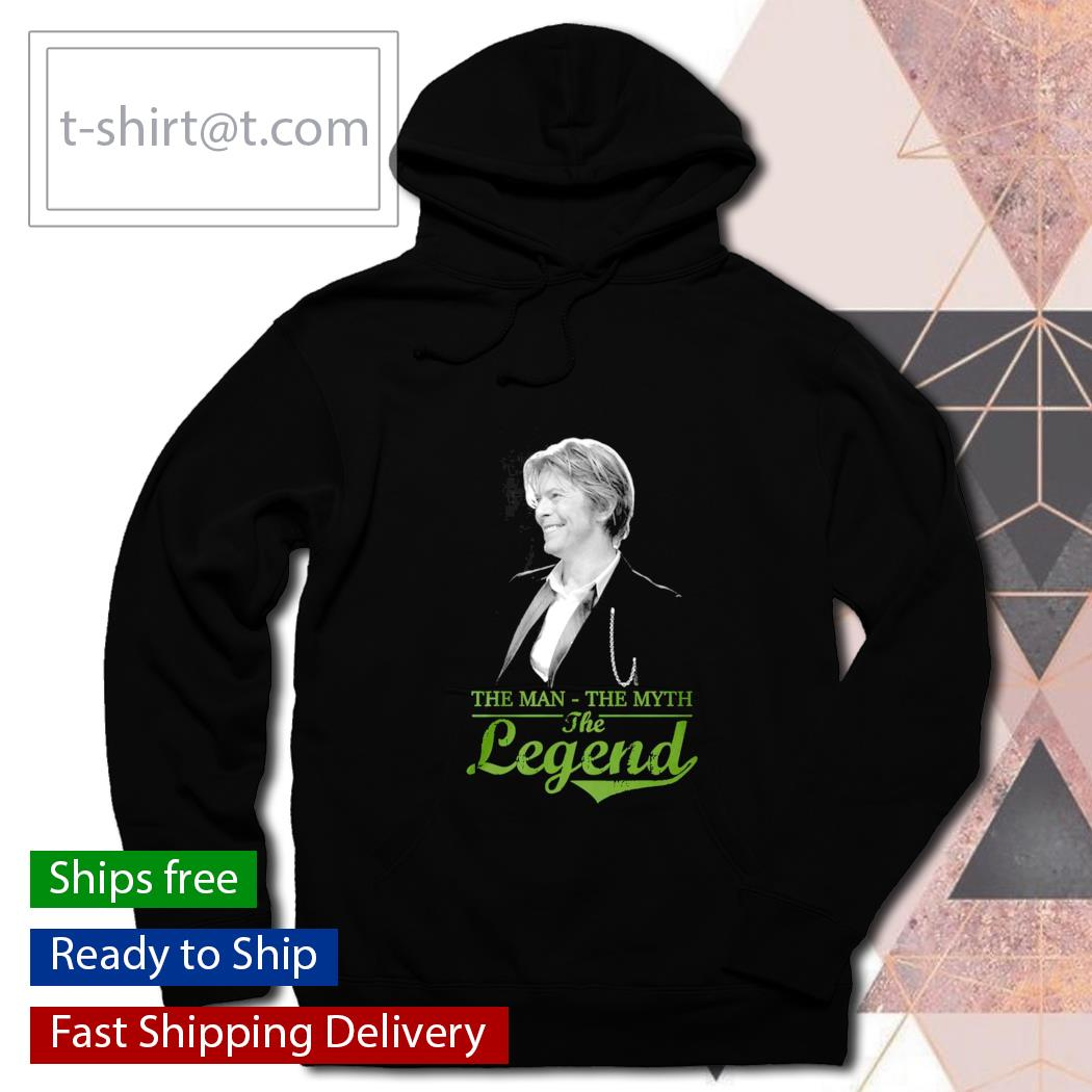 David Bowie the man the myth the legend s hoodie