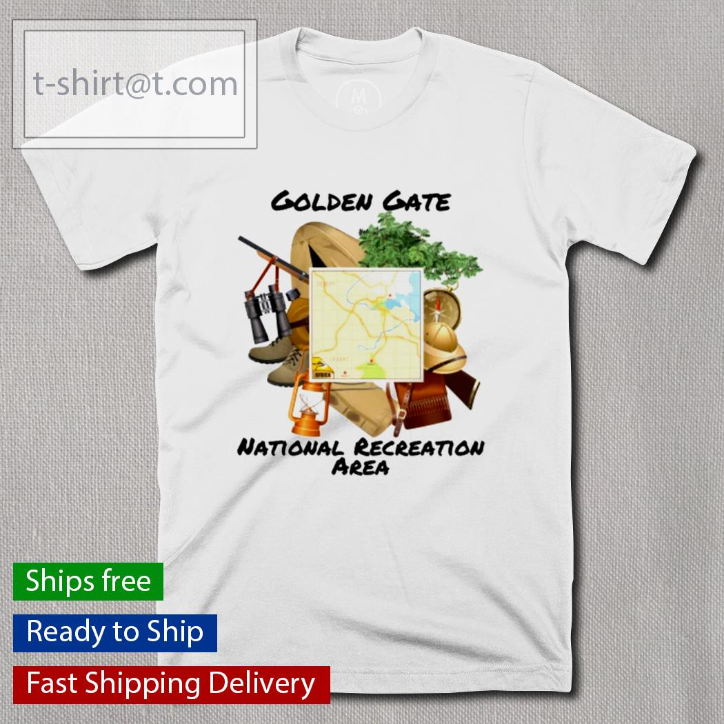Golden gate national recreation area shirt