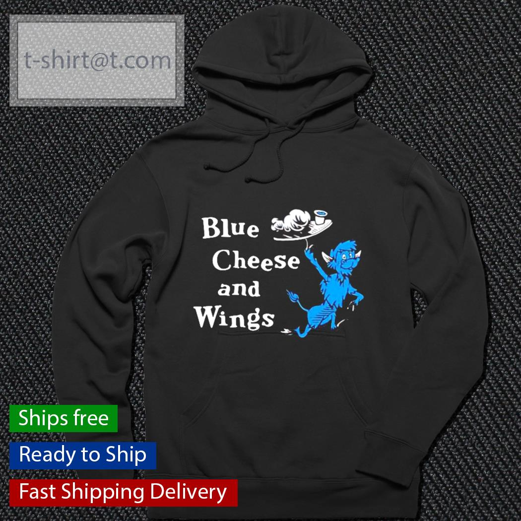 Hall of fame blue cheese and wings s hoodie