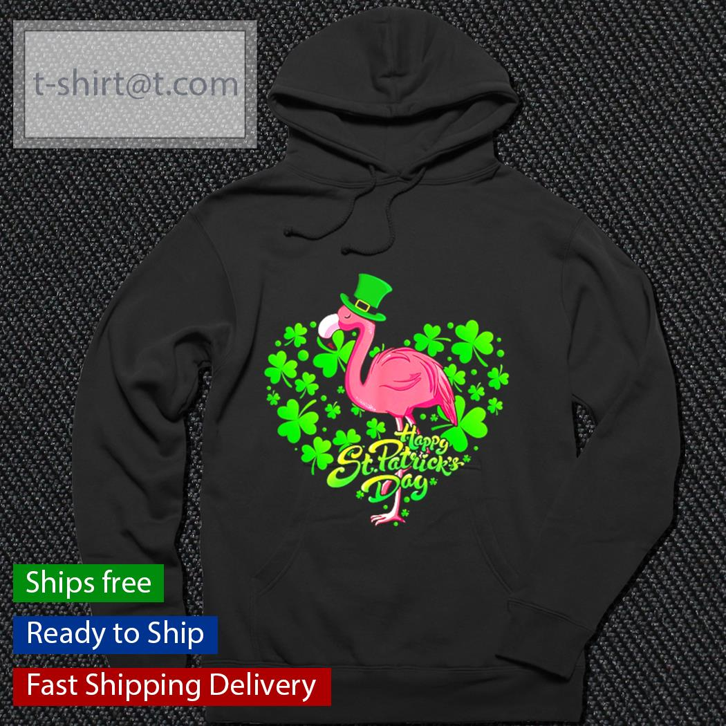 Happy St.patrick's Day Flamingo s hoodie
