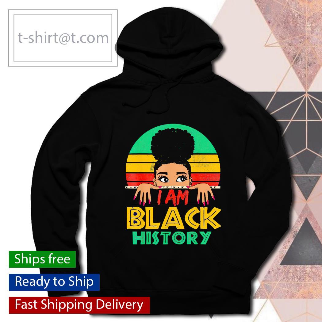 I am black history month 24 7 365 retro vintage shirt, hoodie, sweats hoodie