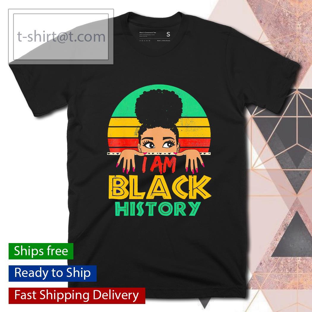 I am black history month 24 7 365 retro vintage shirt, hoodie, sweatshirt