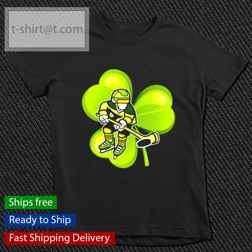 Ice Hockey Shamrock Clover St.Patrick's Day Hockey Irish s youth-tee