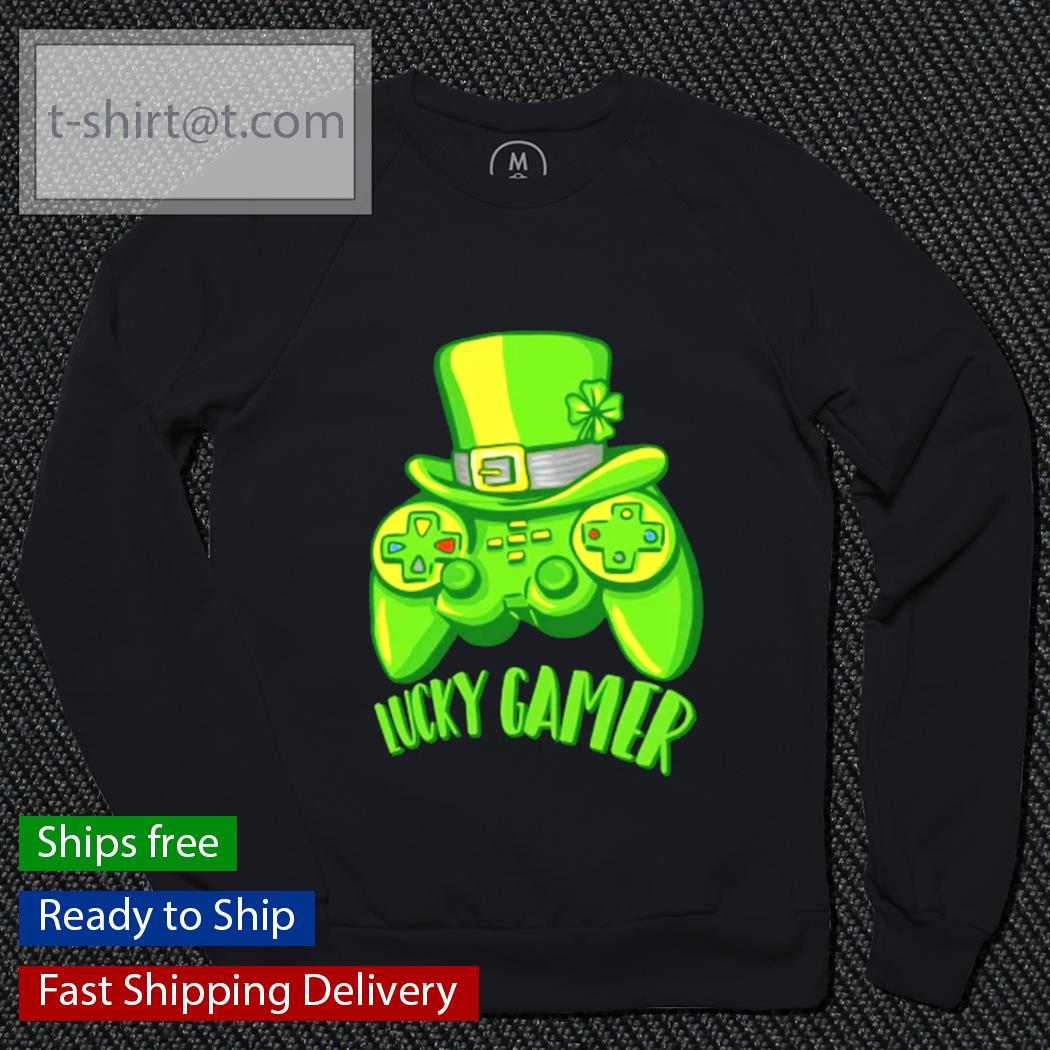 Lucky Gamer St.Patrick's Day Gaming Gamer s sweater