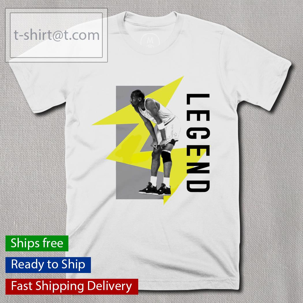 Men's Retro Jordan Legend 4 Color Block shirt