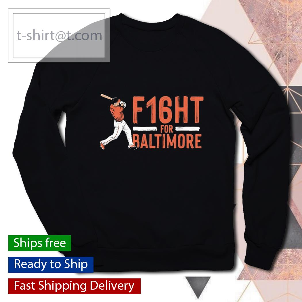 Trey Mancini f16ht for Baltimore s sweater