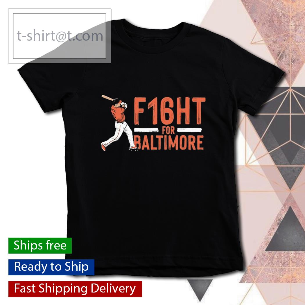 Trey Mancini f16ht for Baltimore s youth-tee