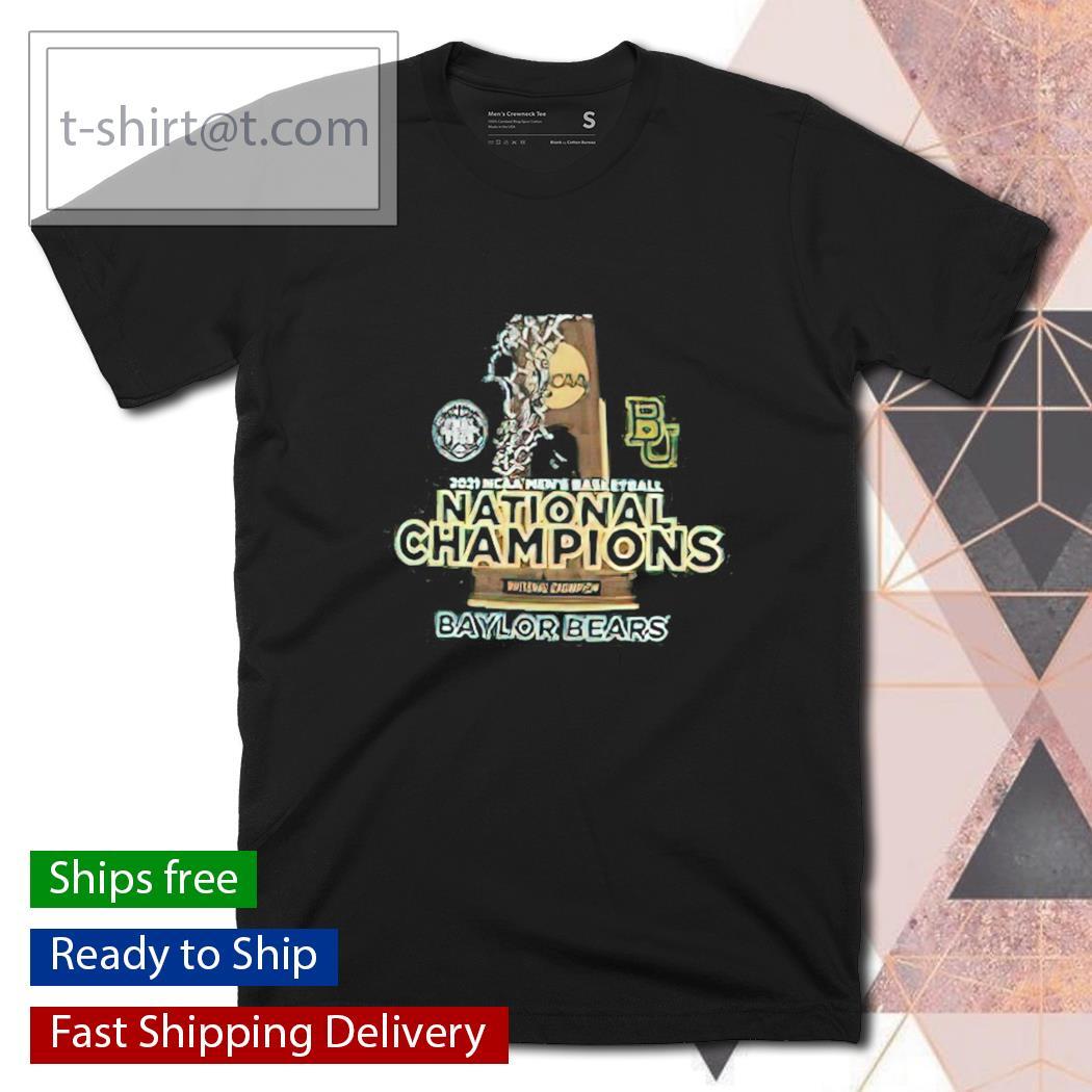 2021 NCAA Men's Basketball National Champions Baylor Bears shirt