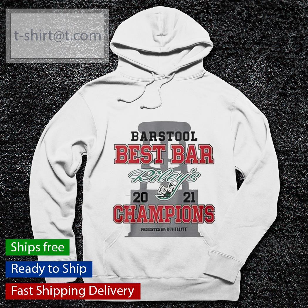 Barstool best bar 2021 Champions Riley's s hoodie