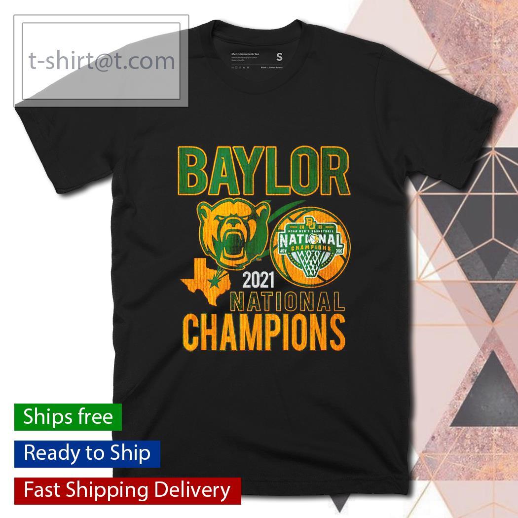 Baylor 2021 NCAA Men's Basketball National Champions shirt