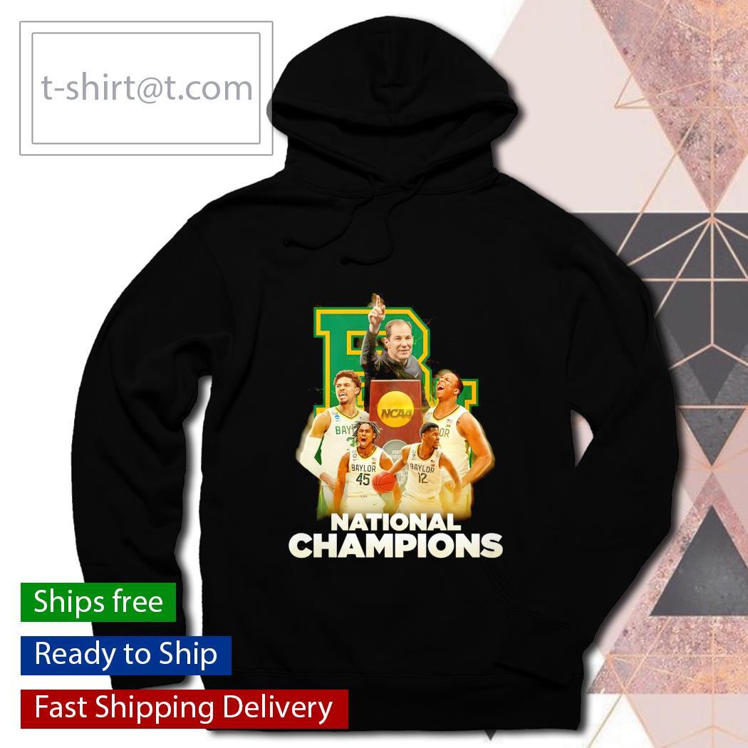 Baylor Bears National Champions NCAA Trophy hoodie