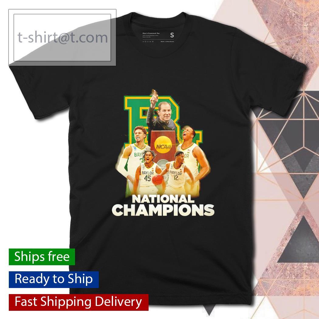 Baylor Bears National Champions NCAA Trophy shirt