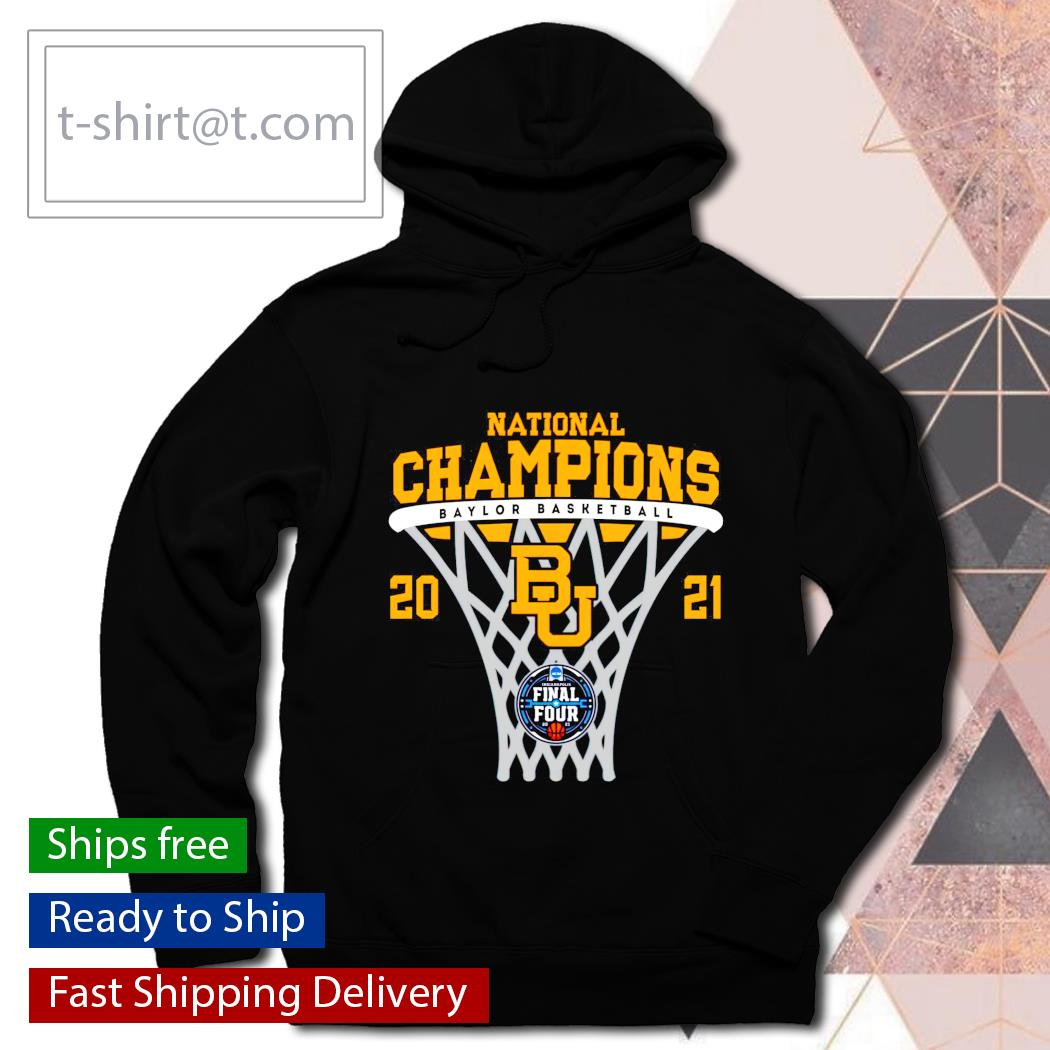 Baylor Champions 2021 Basketball NCAA Men's hoodie