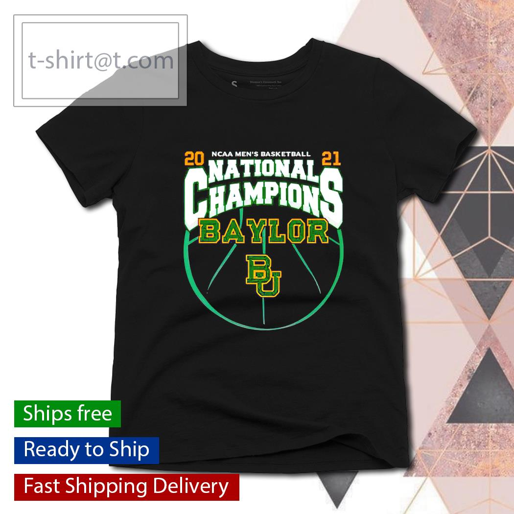 National Champions Baylor Bears 2021 NCAA Men's Basketball s ladies-tee