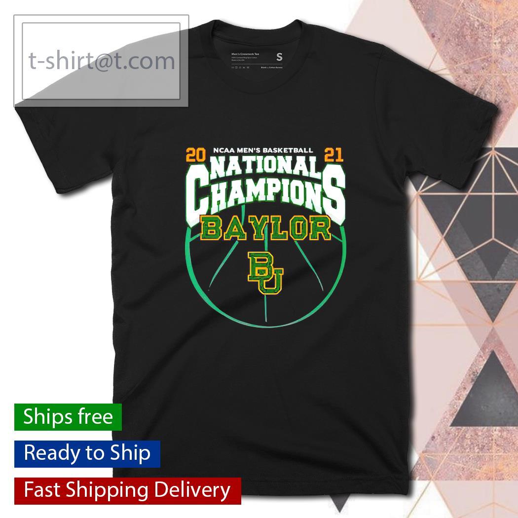National Champions Baylor Bears 2021 NCAA Men's Basketball shirt