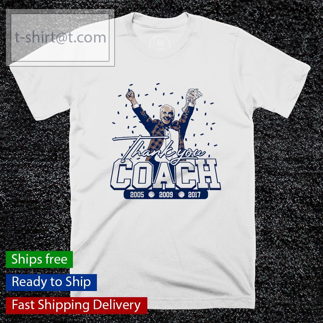 Thank You Coach North Carolina College shirt