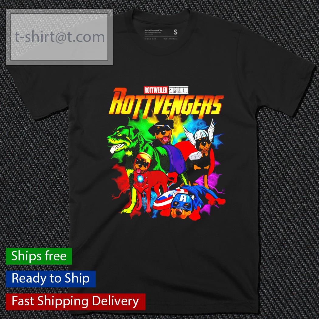 Avenger Rottweiler Superhero Rottvenger shirt