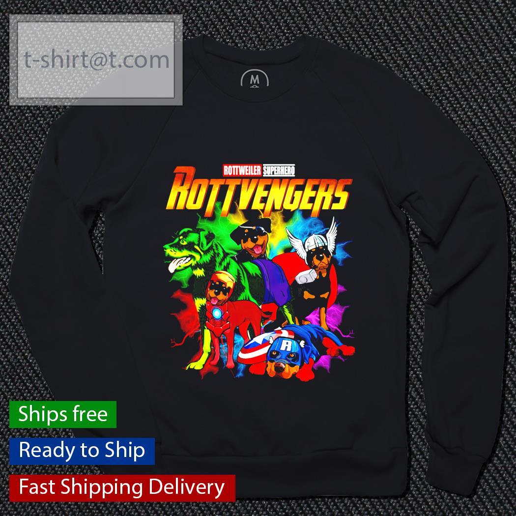 Avenger Rottweiler Superhero Rottvenger sweater