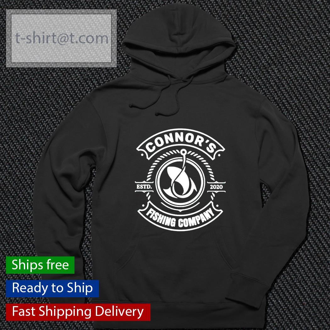 Connor's fishing company hoodie