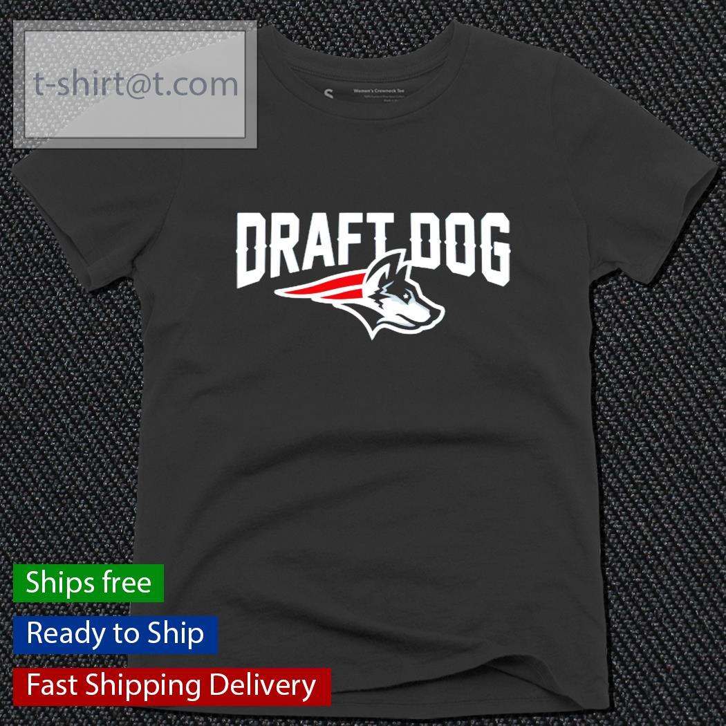 Draft Dog New England football ladies-tee